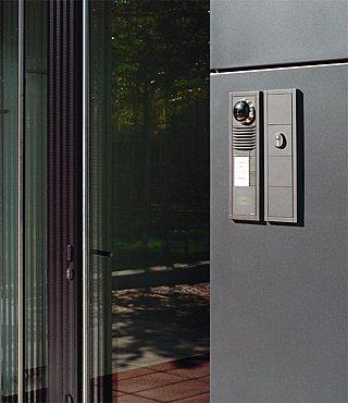 siedle vario video intercom station target security. Black Bedroom Furniture Sets. Home Design Ideas